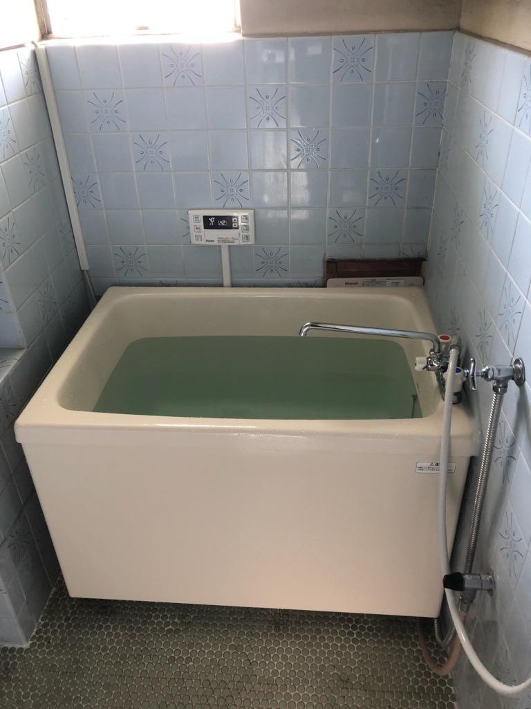 浴槽入替とガス風呂給湯器取替工事